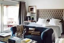 Bedrooms / bedrooms, home decor, beige bedroom, grey bedroom, master bedroom, guest bedroom, kids bedroom, bedroom decor, спальня, современная спальня, серая спальня, дизайн интерьера, декор, занавески, потолок / by Lena