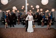 Brown Wedding Detail / Brown wedding ideas including bespoke wedding stationery