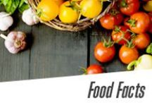 Food Facts / Fitness is about food, too. Here are our tips to get healthy!