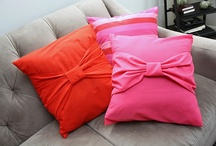 CUSHIONS TO SEW / by Andrea Hyland