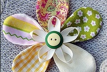 CRAFTING FLOWERS & POM POMS / by Andrea Hyland