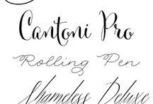 Fonts & Printables