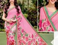 Pretty in Pink Sarees / Awesome pink #sarees by Yellow Fashion.