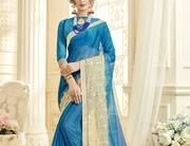 Chiffon Sarees / Designer #Chiffon  #sarees by Yellow fashion.  Diverse collection - find everything from ethnic to modern!