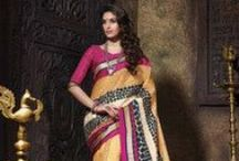 South Silk Sarees / South silk saree collection by Yellow Fashion.