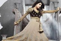 Anarkali Suit / Wide range of enthnic, stylish and trendy #Anarkali suits by Yellow Fashion. #IndianWear #Fashion #Style