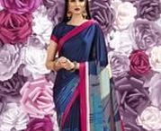 Crepe Saree / Our extensive collection of #Crepe saree by Yellow Fashion