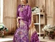 Purple Sarees / A variety of collection to choose from different #colours of #saree according to your #mood and #occasion.