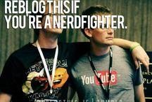 Nerdfighteria / John & Hank Green are some of the greatest people ever! DFTBA!  / by Hayley Allard 💖