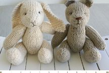 Knit - softies, dolls and others
