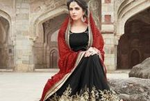 Designer Wear for Brides-To-Be / 3 Piece Lehengas For #Weddings, #One Minute Designer Sarees