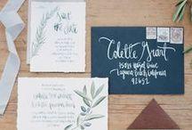 Seatting plan, graphic and signs / Invitaciones, cartelería...