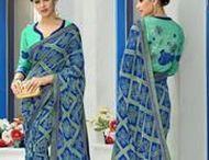 Lehariya-Bandhani Sarees / #LehariyaSarees