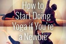 Yoga / My favorite way to destress / by Hayley Allard 💖