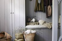 Boot Room / Mud Room / I long for an organised boot room to keep all those boots, shoes, bags and coats in one place. But no mud. This room will be too gorgeous for mud!
