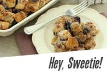 Hey, Sweetie. / Wholesome indulgences without the guilt!