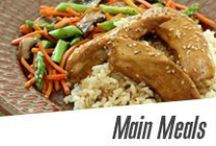 Main Meals / Healthy, simple main dishes that will leave you satiated.