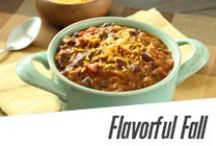 Flavorful Fall / Fall in love with our delicious autumn recipes
