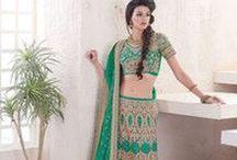 Lehenga Choli / Lehengas # Weddings # Sangeet # Lehenga Choli With Dupatta #