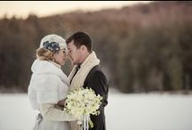 Winter Wedding Inspiration / A Winter Wedding inspirational editorial shoot. As seen in Well Wed Magazine. Photography by Carla Ten Eyck.  Fashion Styling by Beth Chapman.