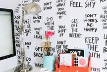 Tipografia+Decor / by Thais Fernandes
