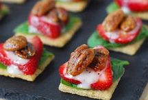 Healthy Snacks & Appetizers / by BackAt Square0