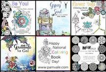 PAM VALE ART AND DESIGN / Art licensing, surface design, illustration, coloring books and journals. Www.pamvale.com