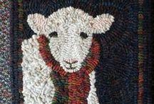 wool hooking