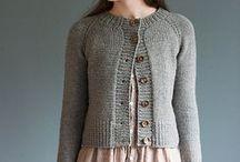 knit cardigans