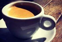 Café com leite.