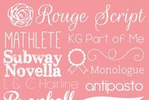 Fonts & Letters / all about writing, nice fonts