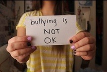 """Anti-Bullying / """"Bullying is unwanted, aggressive behavior that involves a real or perceived power imbalance. The behavior is repeated, or has the potential to be repeated, over time.""""  """"Cyberbullying is when a child, preteen or teen is tormented, threatened, harassed, humiliated, embarrassed or otherwise targeted by another child, preteen or teen using the Internet, interactive and digital technologies or mobile phones."""" (Sources: stopbullying.gov & stopcyberbullying.org) *Trigger Warning on info & pictures*"""