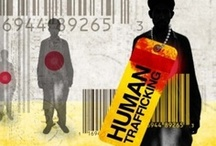 """Human Trafficking  / """"Human trafficking is a form of modern-day slavery where people profit from the control and exploitation of others. As defined under U.S. federal law, victims of human trafficking include children involved in the sex trade, adults age 18 or over who are coerced or deceived into commercial sex acts, and anyone forced into different forms of labor against their will."""" (Source:  polarisproject.org) *trigger warning on info & pictures*"""