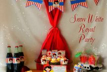Personalized Party Packs / An overview of the items available to be customized for birthdays and other special occasions through Esty.com