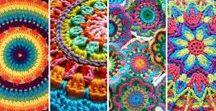Crochet, Mandala and Overlay