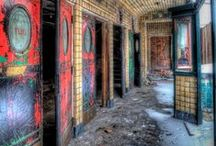 ~!0a--Abandoned Glory / Old abandoned structures that I think are amazing.  / by Greg Sharpe Fine Art Photography & Digital Designs