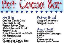 Christmas Hot Cocoa Bar / by Jennifer Lowery Kamptner