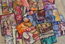 Artist Trading Cards / 2 1/2 x 3 1/2