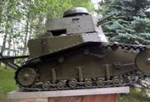 Russian Tankettes / After World War I and early World War II