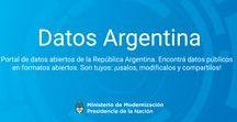 Data Sets Argentina / En este tablero se encuentran indexados algunos de los portales de datos abiertos a nivel municipal, provincial y nacional.