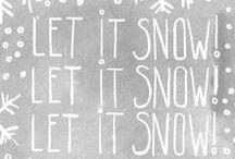 Let it snow let it snow let it snow....