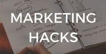 Marketing Hacks / Marketing Hacks | Tips | Social Media | Management | Entrepreneur | Small Business | Tricks | Digital Marketing