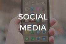 Social Media / Social Media | Social Networking | Networking | Facebook | Instagram | Twitter | LinkedIn | Pinterest | Tips + Tricks | How To | Hashtags | Social Media Hacks
