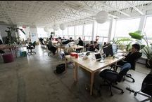 Coworking Canada / Coworking Spaces in Canada / by Deskmag - About Coworking.