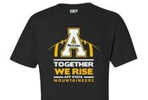 Black and Gold, Wear It  / Appalachian Fans - Show your spirit! Live the Lifestyle... Black and Gold you wear it well