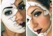 Costumes and Stage Makeup / Homemade costume ideas, costumes inspired by pop culture icons and references, funny twists on traditional costumes, and cosmetic tutorials/photos for Halloween or for the stage