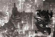 Concept art - Landscape,City,Architecture