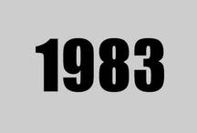 Year 1983 / 1983年。ファミコンが発売された年。 前年の冬にETが公開され、次の年にゴーストバスターズ。 チェッカーズ、尾崎豊がデビュー。 ロボットアニメではボトムズ、バイファムが放送開始。 そんな感じの年です。