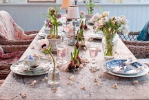 Tablescapes | Centerpieces | Table Settings / Tablescapes | Centerpieces | Table Settings