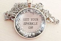 ✾ Glitter ● Sparkle ● Bling Bling / Don't be afraid to sparkle a little brighter, darling!